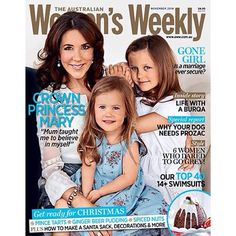 Here's a sneaky look at our November cover featuring the beautiful Princess Mary and her daughters - on-sale TOMORROW!!! #theweekly #princessmary #royalcover