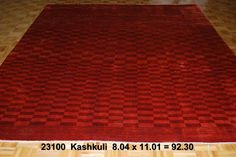 Kashkuli, 8-4 x 1-1 by A Rug For All Reasons   The reds in this rug from Iran were derived from vegetal dyes. Because the wool was handspun, the dyes are taken up unevenly, giving lots of variation and color and depth to the appearance of the rug. No longer being imported into the United States, these Kahskuli (Qashgai), or Gabbeh designs, are now rare and difficult to acquire.
