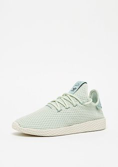adidas Pharrell Williams Tennis HU linen green #adidas #pharell #pharellwilliams #tennisHU #tennis #green