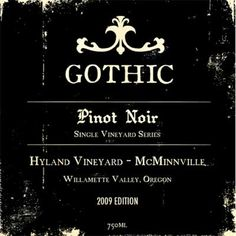 Awesome wine label!