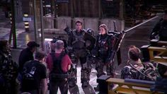 The Edge of Tomorrow: behind the scenes footage.