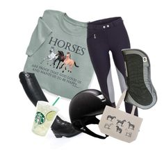"""""""Horses Are Proof That God Loves Us And Wants Us To Be Happy"""" by perfeqequestrian ❤ liked on Polyvore featuring Parlanti"""
