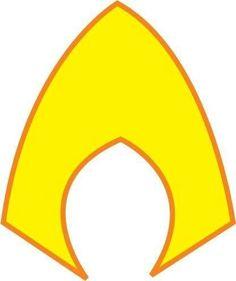 aquaman symbol coloring pages - photo#36