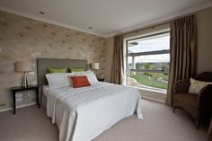 Master bedroom with a soothing appeal