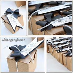 white grey home: Willkommensgeschenke
