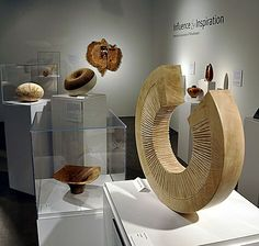 A woodturned piece by Benoit Averly from the AAW SOFA exhibit, Chicago 2009. I was there! This was an amazing event.
