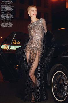 Saskia de Brauw by Terry Richardson for Vogue Paris February 2014