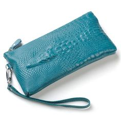 Genuine leather 2015 fashion crocodile women wallets purse evening women leather clutch bags small coin purses
