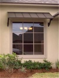 Residential Aluminum Awnings Classic Metal Window Awnings With The