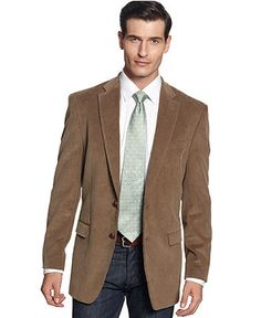 Cordings Green Ripley Slim-Fit Corduroy Blazer | Men's Blazers and ...