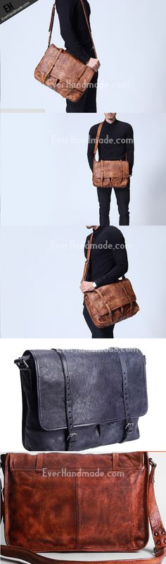 d16ade88ed Handmade leather men satchel bag messenger large vintage shoulder Satchel  Bags For Men