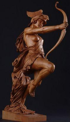 Tallador de madera y escultor: Fred Zavadil