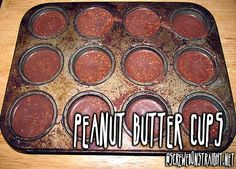 Peanut Butter Cups – Keto-Style Fat Bombs FTW