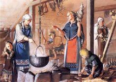 Los vikingos. Guerreros del norte.