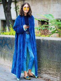 Blue, glorious blue.