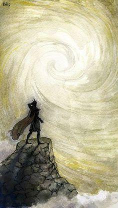 Melkor and Eru Iluvatar