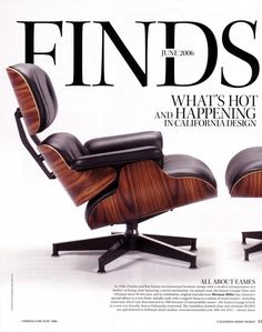 U201cAn Instant Icon, The Eames Lounge Chair And Ottoman Turns 57 This Year,