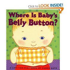 Where Is Baby's Belly Button ?   Karen Katz