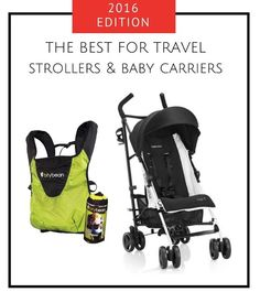 Best Airplane Travel Strollers   Carriers – 2016 Flying with Baby