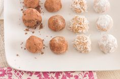 Agave almond butter truffles - need to replace 2 of the 3 ingredients, but it's worth a try!