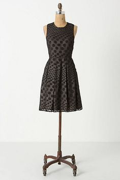 Falling Dots Mini Dress #anthropologie