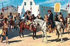 BELLUMARTIS HISTORIA MILITAR: LOS PRESIDIOS ESPAÑOLES EN NORTEAMERICA. LOS DRAGONES DE CUERA.