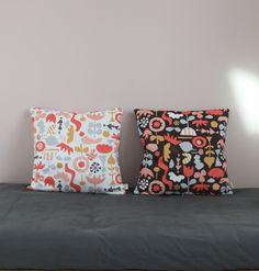 COLLAGE DARK cushion
