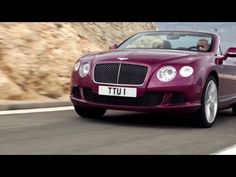 2014 The new Bentley GT Speed Convertible