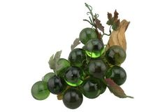 Large Emerald Green Lucite Grapes $115