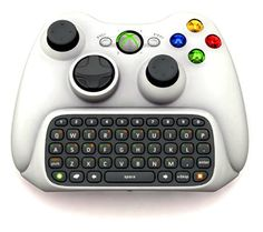 Xbox 360 Chatpad (2007): Controller for Xbox Live Windows Live Messenger.