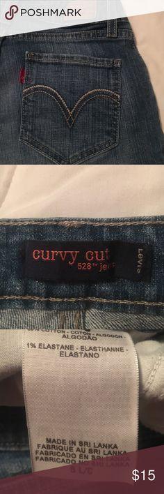 Levi's Curvy Cut 528 Denim 5L Levi's Curvy Cut 528 Denim 5L Levi's Jeans Boot Cut