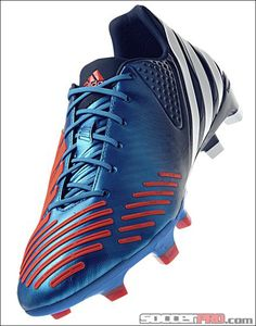 e3c921d2ea965 adidas Predator LZ TRX Soccer Cleats - Bright Blue with Running White and  Infrared.