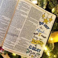 Christmas / Advent - Luke 2:10 - Do not be afraid, I bring you good news of great joy!