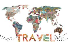 travel world map - Google Search
