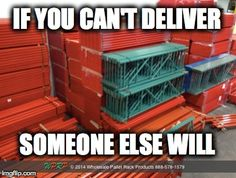 #MaterialHandling #WeCanHelpWednesdays  If you can't deliver to your customer, someone else will - and it won't be via a sleigh and 8 reindeer. We can help! With three quick ship locations, WPRP Can Deliver! http://www.wprpwholesalepalletrack.com