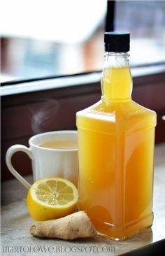 Syrop imbirowo-miodowyie i nie tylko Healthy Drinks, Healthy Recipes, Healthy Eating, Smoothie Drinks, Smoothies, I Love Food, Good Food, Polish Recipes, Sans Gluten