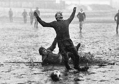 Born in the early winter of 1938 Stanislav Tereba is a Czech photojournalist. Tereba worked as a photojournalist for Večerník Praha, a daily newspaper sold on the streets of Prague. Football Odds, Photo Lens, World Press, Leeds United, Photography Contests, Press Photo, Goalkeeper, Photojournalism, Rainy Days