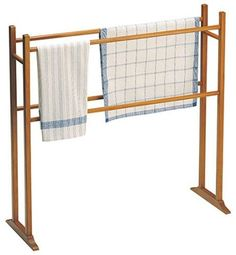 """Sabbathday Lake Shaker Towel Rack (available as a kit or assembled and finished)  Measures 33"""" high x 34"""" wide x 6 1/2"""" deep"""