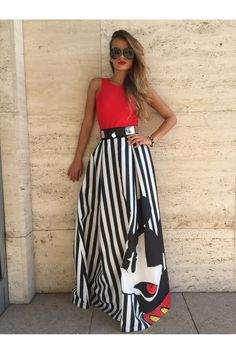 Record Mickey skirt - Sugarbird Official Online Store - Europe 84b1d7402e