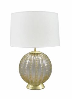 Pair of Barovier & Toso Art Glass Table Lamps. Dreamy.... for my bedroom!