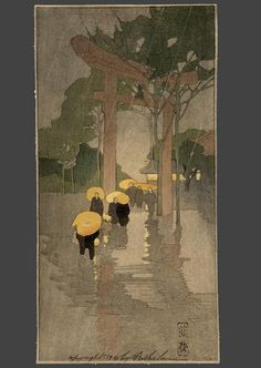 Bertha Lum (1869-1954) – Temple Gate (1912)