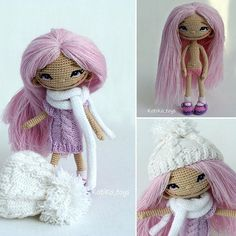 Amigurumi crochet doll. (Inspiration).