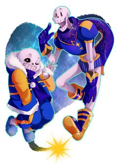 sans and papyrus | Outertale