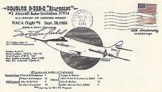 Scott Crossfield Test Pilot Signed Douglas D558-2 Skyrocket At The Edge Of Space