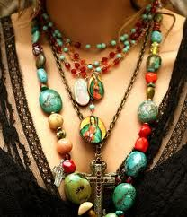 Gypsy lady- perfect colors and neckline dip