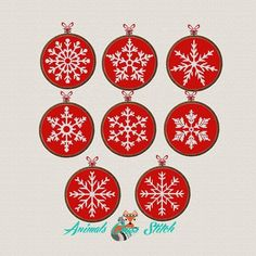 Snowflakes cross stitch pattern Merry Christmas Embroidery Pattern pdf Winter decor Christmas Ornaments❤  ❤  ❤ You can always find and download them here: You> Purchases and reviews❤ ❤ ❤This is a digital item. The PDF file of the pattern will be available for instant download once payment is confirmed.❤ ❤ ❤❤ What size Aida fabric do you need?This is necessary for convenient design of finished embroidery in a frame.1. Determine the design of the finished embroidery - what size frame to decorate - Cross Stitch Christmas Ornaments, Christmas Snowflakes, Xmas Ornaments, Christmas Cross, Merry Christmas, Gift Noel, Christmas Embroidery Patterns, Embroidery Hoops, Hand Embroidery
