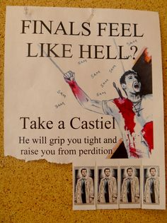wow this is funny except it hurts wait what was I expecting it's Supernatural, everything is pain.