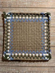 Potholder Loom, Quilted Potholders, Potholder Patterns, Crochet Potholders, Apron Patterns, Loom Weaving, Hand Weaving, Quilt Blocks Easy, Weaving
