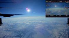 Drone Atinge Altura Equivalente à De Muitos Aviões Comerciais e Regista Imagens Inesquecíveis