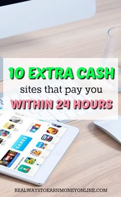 Like using extra cash sites, but don't like waiting on your pay? These 10 process payouts on a daily basis.